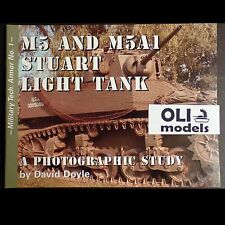 Military Tech Armor No. 1: M5 & M5A1 STUART Light Tank by David Doyle