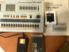 Roland  TR707 Rhythm Composer Analog Drum Machine Musical Instrument Japan