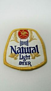 """Natural Light Beer Patch - 2 1/2"""" X 3"""""""