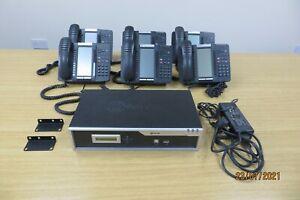Mitel 5000 HX and Six Mitel 5320 Digital Handsets