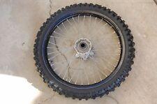 2008 KTM 450 front wheel Dunlop tire 90/100-21 57M