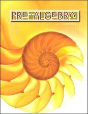 BJU Press - Pre-Algebra Student Text (2nd Ed) 517060