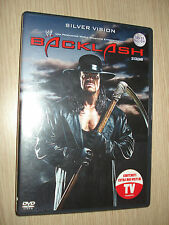RARE DVD BACKLASH 2008 SILVER VISION 3 HOURS OF A SIGHT PURE ITALIAN-ENGLISH