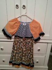 Little Girls Mellon Monkey Dress, Size 10, Hand Made