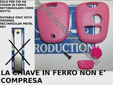 Cover Case Shell Pink for Key Remote Control 2 Buttons Toyota Aygo