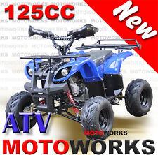 MOTOWORKS 125CC Farm ATV QUAD Bike Dirt Gokart 4 Wheeler Buggy Blue
