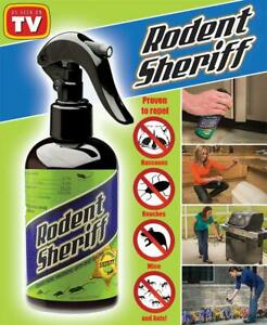 Rodent Sheriff 8 oz Natural Mint Pest Spray repels mice, raccoons, roaches, ants