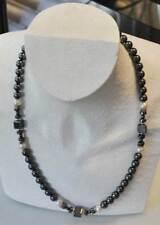 wunderschöne Hämatit - Perlen Kette 50 cm