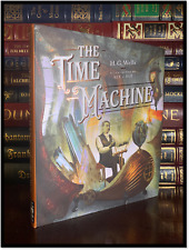 The Time Machine by H.G. New Color Illustrated Slim Hardback with Sprayed Edges
