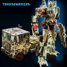 Transformers Battle Damage Optimus Prime Convoy Car Deformation Toys New in Box
