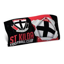 St Kilda Saints AFL Pillow Case Pillowcase Birthday Fathers Gift *NEW 2018*