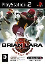 Brian Lara International Cricket 2005 (Playstation 2) - Free Postage - UK Seller