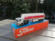 1/50 TEKNO DAF 85 ESSO  TRUCK & TANK TRAILER VERY NICE CONDITION NM BOX