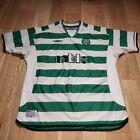 Mens Umbro Celtic Home football shirt 2001 - 2003 Size XXL