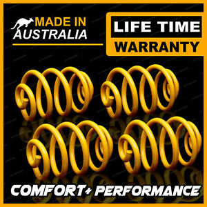 Front + Rear 70mm Ultra Low King Coil Springs for SUBARU IMPREZA WRX GD GG