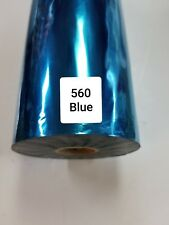 Hot Stamping Foil, 560 Blue    24 In x 1000 Ft.    PROPIUSA