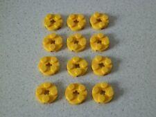Lego 4032 # 12x Platte  rund 2x2 gelb 7930 10182