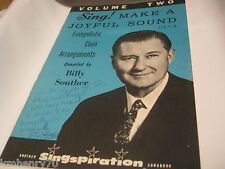 Evangelism Arrangements For The Choir Vol Two Songbook Billy Souther Sheet Music