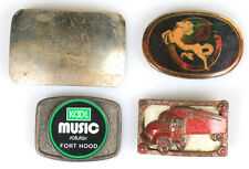 Misc. Belt Buckles, Collection Of 4