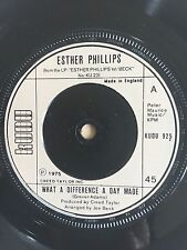 ESTHER PHILLIPS WHAT A DIFFERENCE A DAY MADE KUDU RECORDS 925