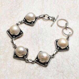 Pearl Ethnic Handmade Bracelet Jewelry 21 Gms AB 99569