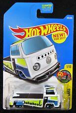2017 Hot Wheels  White  Volkswagen T2 Pickup   HW Art Cars  Card #295  32-092617