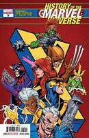 History of the Marvel Universe #5 X-men Cover Marvel Comic 1st print 2019 NM