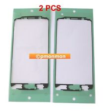 2 x LCD Faceplate Frame Adhesive For Samsung Galaxy S6 G920A G920T G920V G920/P