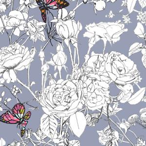 Pixelfly Eden Lilac Cotton from Art Gallery Fabrics – per half metre