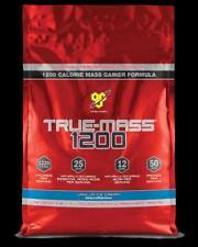BSN Truemass 1200 Vanilla 10lb Weight Gain Protein Powder True Mass Serious Mass