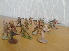 plastic toy soldiers 1/32 Hilco and cherilea infantry