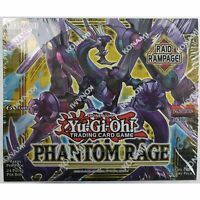 Yugioh Phantom Rage English TCG 1st Edition Booster Box SEALED