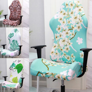 Home Office Computer Gaming Chair Cover  Swivel Armchair Slipcover Chair Covers