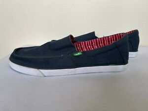Sanuk Slip on Shoe Royal Blue Size 12 EXCELLENT CONDITION
