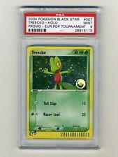 Pokemon PSA 9 MINT Treecko PokeBall Gold Stamp UK Promo ONLY GRADED CARD ON EBAY
