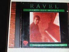 Ravel Dominique MERLET complete piano works 1 MANDALA