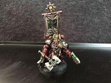 Warhammer 40k marines espaciales sangre Cuervos capitán Totalmente Pintado