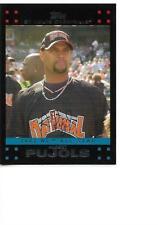 2007 Topps Update Albert Pujols All-Star