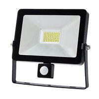 10/20/30/50W LED LUCE FARO LAMPADA DA LAVORO Sensore PIR FARETTO Emergenza LAMPA