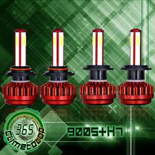 H7 9005 Total 480W 48000LM LED Headlight High Low Beam Combo Kit 6000K White