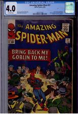 Amazing Spider-Man #27 CGC 4.0 OW  Green Goblin, Crime Master