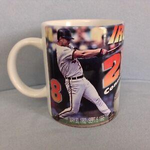 NWT 1995 Cal Ripken Jr Iron Man 2131 Consecutive Games Mug Baltimore Orioles