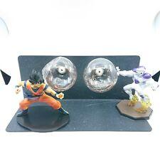 Dragon Ball Z Son GOKU vs Frieza Led Light Lamp Action Figure Whole Set