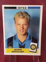 Dennis Bergkamp Inter Milan Calciatori 1994/95 Panini Sticker