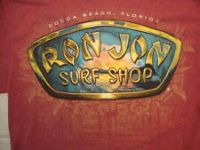 Ron Jon Surf Shop Cocoa Beach Florida Souvenir Red Cotton T Shirt Size M