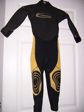 Tribord 3/3 childs kids youth full WETSUIT 6 surf swim snorkel water sports
