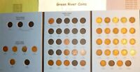 1859-1909  Indian Head  Cent Collection New Whitman Folder #I-36