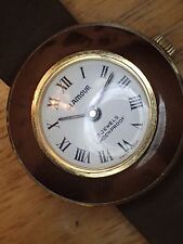 Glamour 17 Jewel Woman's Watch Ticks Needs New Band#39