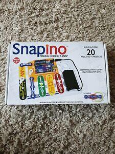 Snapino® Snap Circuits BUILD AND CODE Arduino Kit SNAP CIRCUITS SEE PICS