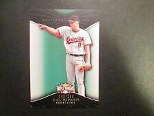 2009 Topps Triple Threads  Emerald Cal Ripken Jr.  Baltimore Orioles #143/240